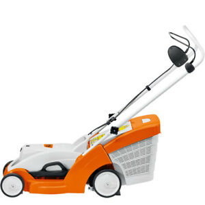 STHIL RMA 370 Lithium-Ion Lawn Mower & Quick Charger & Battery