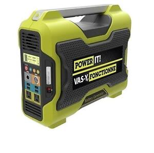 USED POWER IT! BATTERY GENERATOR Lithium Ion - 1000W Power Equipment  Generators  POWER IT! Li-Ion Battery 109750736