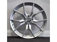 """18"""" FORD RS (Silver) alloy wheels &tyres to suit most Ford models 5X108"""