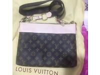Louis Vuitton Messenger Ladies Satchel Bag Monogram