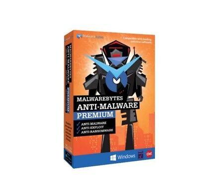 Malwarebytes Anti Malware Premium 3Pcs    1Year