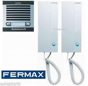 Fermax city classic 6202 kit completo portero automatico - Telefono portero automatico ...