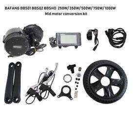 ELECYCLES BAFANG BBS01B BBS02B BBSHD 250W-1000W E-bike Conversion Kit
