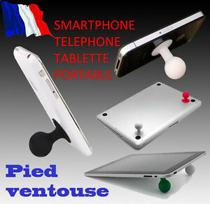Support Pied Ventouse Telephone Iphone Ipad Tablette