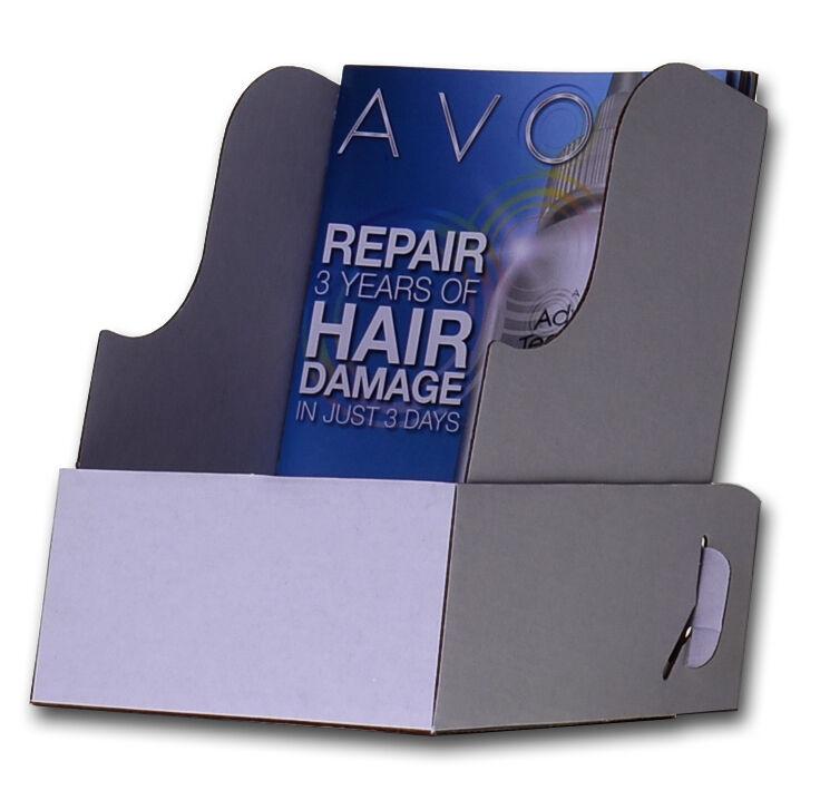 Pack of 100 Avon Cardboard Display Holder Counter Top