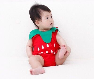 Baby Fruit Bodysuit Strawberry Pineapple Watermelon For Infant Costume Clothes