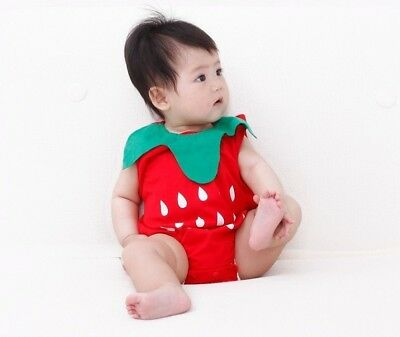 Baby Fruit Bodysuit Strawberry Pineapple Watermelon For Infant Costume Clothes](Pineapple Baby Costume)