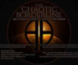 Drummer Wanted - The Chaotic Borderline (Sydney - Metalcore) Putney Ryde Area Preview