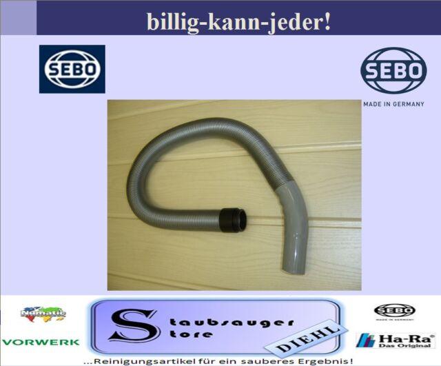Original Sebo geräteschlauch 7050sb for Sebo Felix Vacuum Cleaner Colour Silver