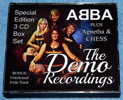 ABBA - ULTRA RARE 'The Demo Recordings' Collector's 3CD Box Set