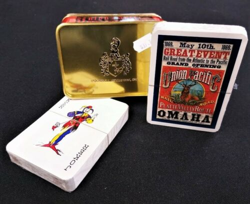 Union Pacific Railroad Classic Playing Cards Mint Condition