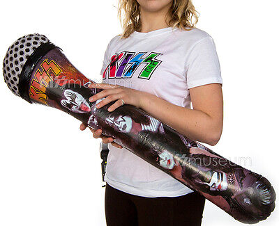 KISS BLOW-UP MICROPHONE, official KISS - Blow Up Microphone