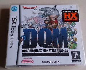 DRAGON-QUEST-NINTENDO-DS-COMPATIBILE-3DS-MONSTERS-JOKER-NUOVO-NO-SWITCH