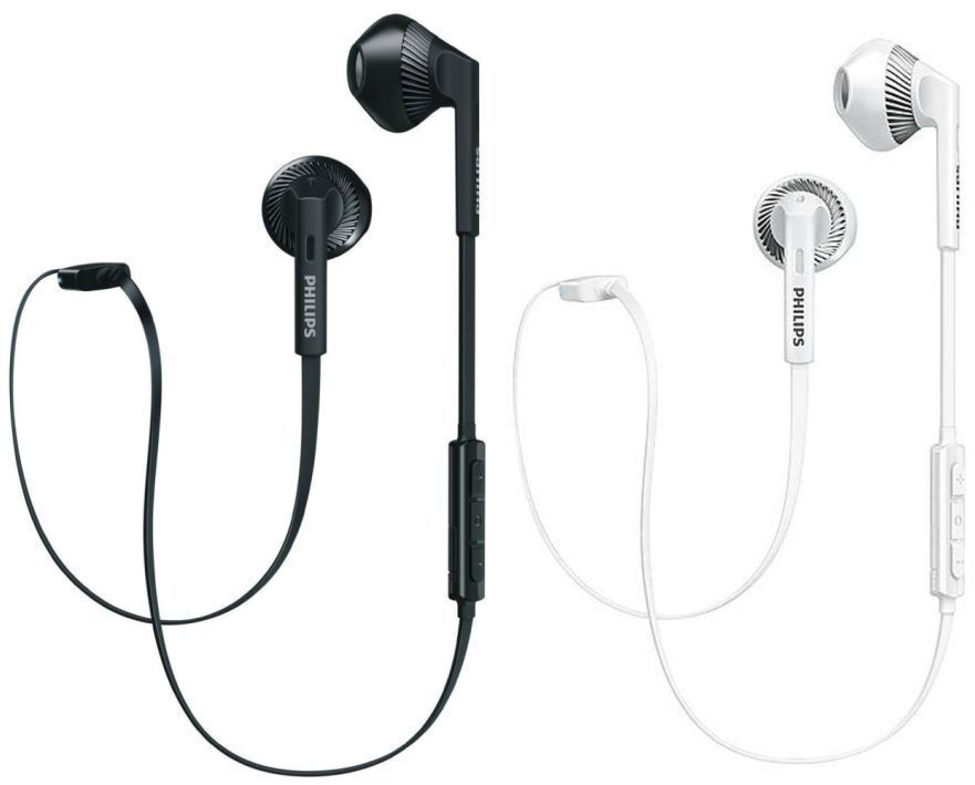 Headphones - Philips In-Ear Noise Isolating Wireless Bluetooth Headphones with Microphone