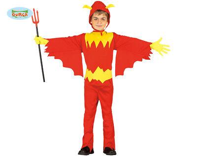 GUIRCA Costume vestito diavolo halloween carnevale bambino mod. 7860_