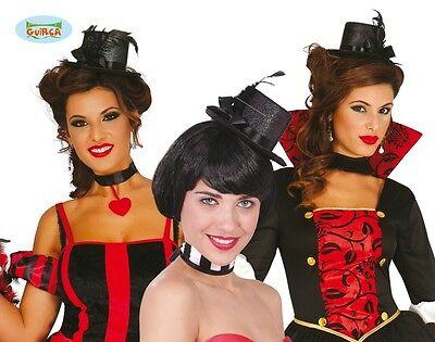 Showgirl Mini Zylinder für Damen zum 20er Jahre Kostüm