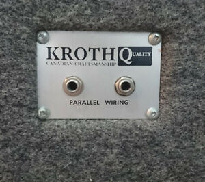 Bass Guitar Speaker Cabinet - KROTH 1x15