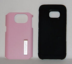 Samsung Galaxy S7 Cell Phone Case With Kick Stand Pink