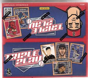 2013 Panini Triple Play Baseball Box - 24 packs