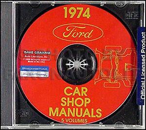 1974-Ford-Shop-Manual-CD-Torino-Ranchero-Mustang-II-Maverick-Galaxie-LTD-TBird