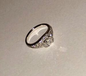 Princess Cut Diamond Custom Made .35 Carat