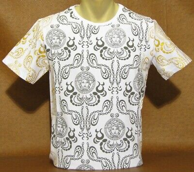 Brand New With Tags Men's VERSACE Short Sleeve T-SHIRT Size L&XL