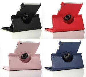 Various Colors Cases/Covers 360 Rotating for iPad Mini, Air, 3 4