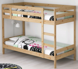 Bunk bed p with mattresses.Good condition. Delivery available extra