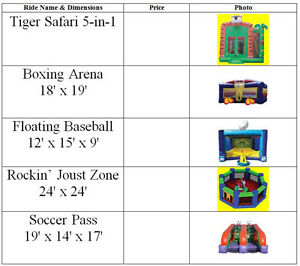 Used Bouncy Castle, Inflatable Bouncer 4 Sale KItchener-Waterloo Kitchener / Waterloo Kitchener Area image 4