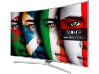 "NEW,55""Samsung 4K CURVE Smart tv £550,ONO guaranteed ,NEED QUICK SALE."