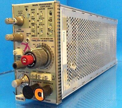 Tektronix 100 Mhz Dual Time Base Plug-in 7000-series Scopes 7b53a