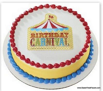 Circus Cakes (CARNIVAL Cake Decoration Topper Kit Cupcake Circus Birthday Plac Children Fair)