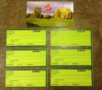 Alberta Spings Golf, 4 passes, 2 carts (18 holes)
