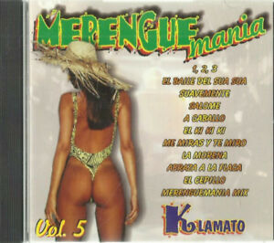cd - Merengue Mania pre-owned cd in excellent condition Pick-up