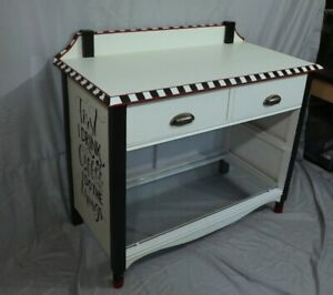 #44 Retro Cabinet Solid Wood French Chef Style