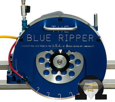 3hp Blue Ripper Sr Rail Saw For Granite Marble And Stone Counter-tops