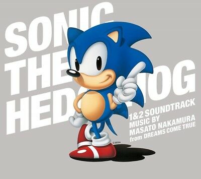 Masato Nakamura -Sonic the Hedgehog 1 & 2 Soundtrack- 3 CD set