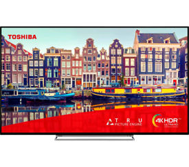 TV 49INCH TOSHIBA 4K ULTRA HD HDR IN MINT CONDITION with 6 months WARR