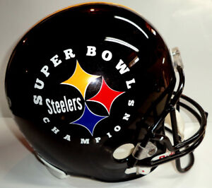 PITTSBURGH STEELERS SUPER BOWL CHAMPIONS FULL SIZE HELMET