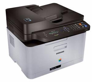 color laser printer copier fax scanner Samsung Xpress C460 fw