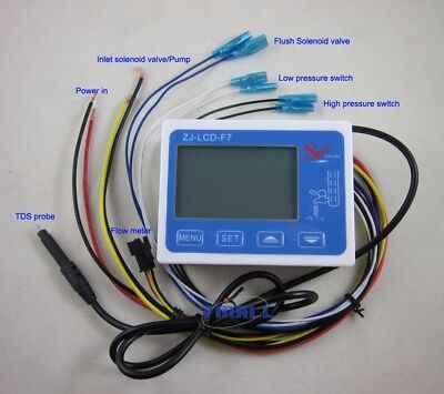 RO Water Filter LCD Display Control TDS water quality Life Monitor Alarm System ()