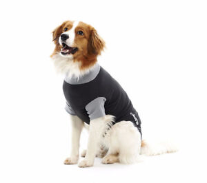 BUSTER Body Suit for dogs, black/grey - SIZE XL