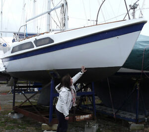 Tanzer 22' (fin keel) - Priced to sell at $1,200!