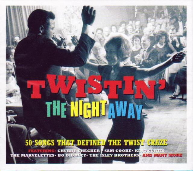 TWISTIN' THE NIGHT AWAY - 50 SONGS THAT DEFINED THE TWIST CRAZE (NEW SEALED 2CD)