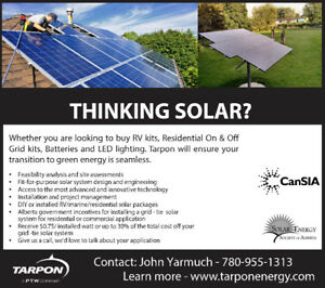 Thinking Solar?! We'd love to talk to you about your home needs!