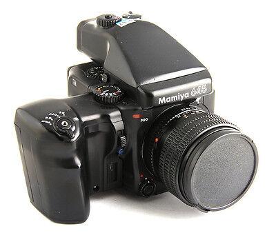 Mamiya 645 Pro  Medium Format SLR Film Camera 80 F1.9 mm lens Kit