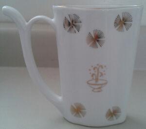Old Czech Fine Porcelain Karlovy- Vary Jug / Mug