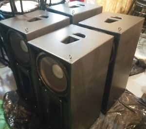 """Own a bar? DJ? Authentic Belisle Transparence (""""TR"""") speakers"""