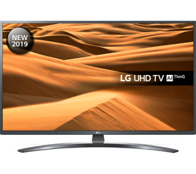 "LG 50"" Smart 4K UHD, Google Assistant, New in Box (Delivery available)"