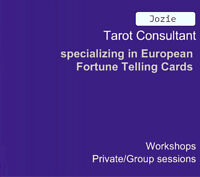 WORKSHOP: Create & Learn 36 picture cards from Tarot expert.